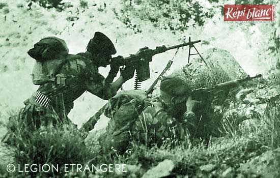 3 REI - 3REI - 3rd Foreign Infantry Regiment - 3rd REI - Operation Dordogne 1961