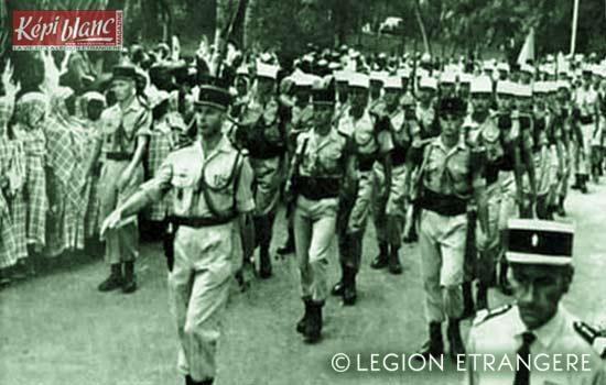 3 REI - 3REI - 3rd Foreign Infantry Regiment - 3rd REI - Mayotte - Dzaoudzi 1967