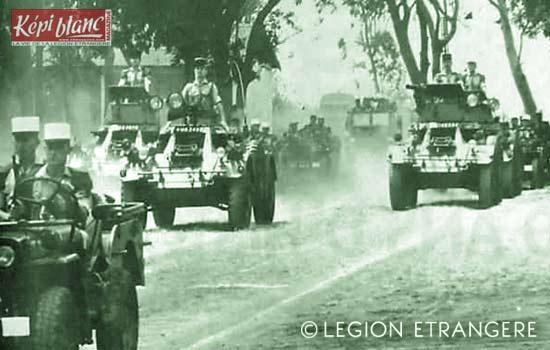 3 REI - 3REI - 3rd Foreign Infantry Regiment - 3rd REI - Madagascar - 1st Squadron 1971