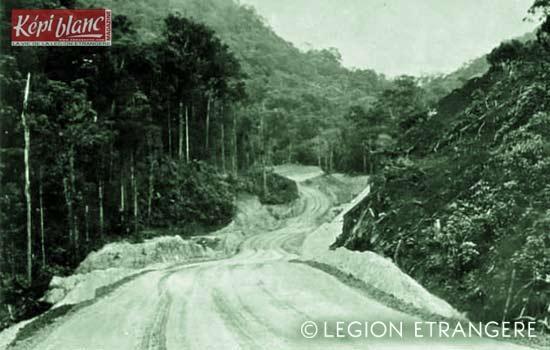3 REI - 3REI - 3rd Foreign Infantry Regiment - 3rd REI - Route de l'est 1980