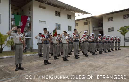 3e REI - 3 REI - 3rd Foreign Infantry Regiment - 3rd REI - Quartier Forget - Kourou