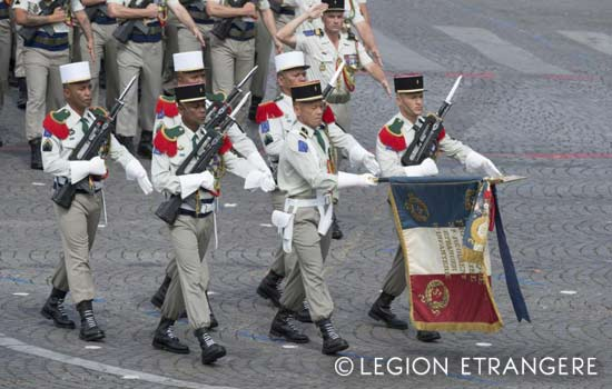 3e REI - 3 REI - 3rd Foreign Infantry Regiment - 3rd REI - 2015 Bastille Day Military Parade
