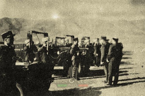 24e CPLE - 24 CPLE - Foreign Legion Etrangere - Dodges - 1955 - Algeria