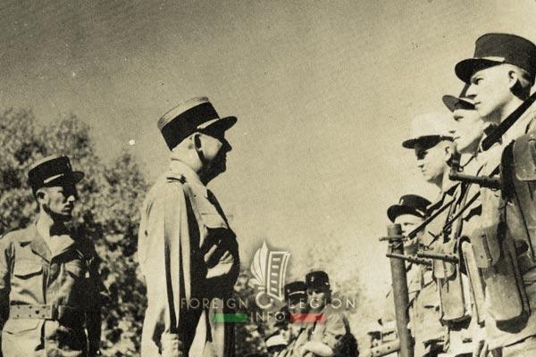 24e CPLE - 24 CPLE - Foreign Legion Etrangere - Sidi Bel Abbes - Cne Thimel - Col Raberin - 1955 - Algeria