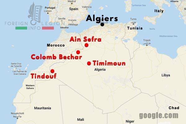 4 CSPL - Saharan Company - Compagnie Saharienne - Foreign Legion Etrangere - Algeria - Algerie - 1955-57