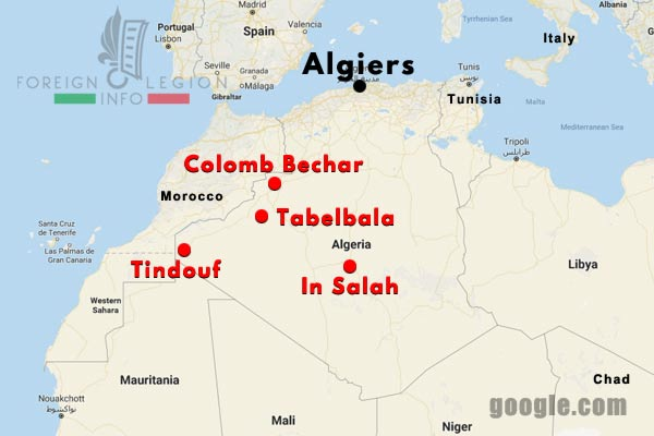 4 CSPL - Saharan Company - Compagnie Saharienne - Foreign Legion Etrangere - Algeria - Algerie - 1958-63