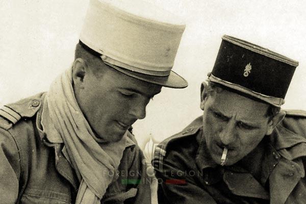 4e CSPL - 4 CSPL - Foreign Legion Etrangere - Jean Cailleux - Adjudant Gniewek - 1956 - Algeria