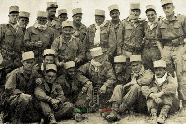 4e CSPL - 4 CSPL - Foreign Legion Etrangere - Ain Sefra - 1956 - Algeria