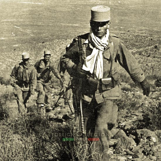 4e CSPL - 4 CSPL - Foreign Legion Etrangere - Operation - 1956 - Algeria