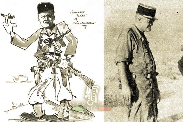 4e CSPL - 4 CSPL - Foreign Legion Etrangere - Jean Planet - 1957 - Algeria