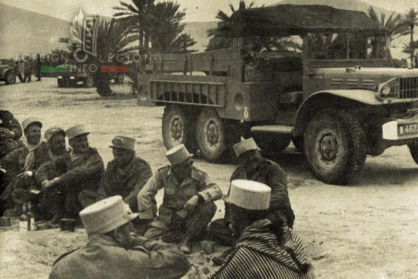 4e CSPL - 4 CSPL - Foreign Legion Etrangere - Sahara - 1957 - Algeria