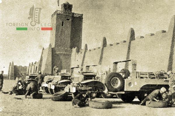 4e CSPL - 4 CSPL - Foreign Legion Etrangere - Timimoun - 1957 - Algeria