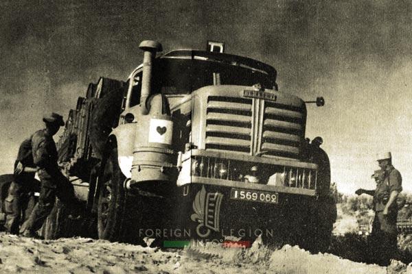 4e CSPL - 4 CSPL - Foreign Legion Etrangere - Berliet - 1958 - Algeria