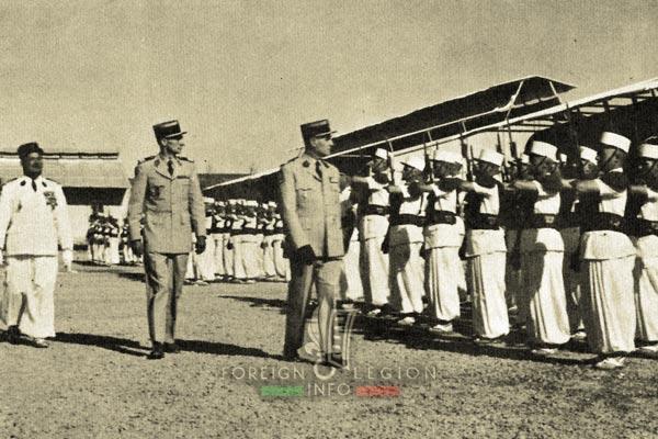 4e CSPL - 4 CSPL - Foreign Legion Etrangere - Colomb Bechar - Camerone - 1962 - Algeria
