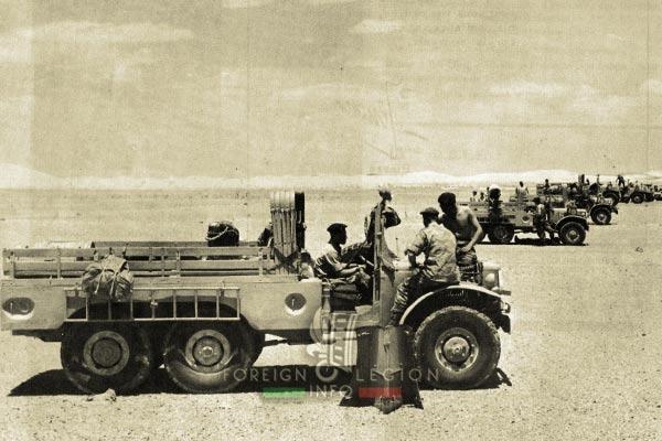4e CSPL - 4 CSPL - Foreign Legion Etrangere - Sahara - 1962 - Algeria