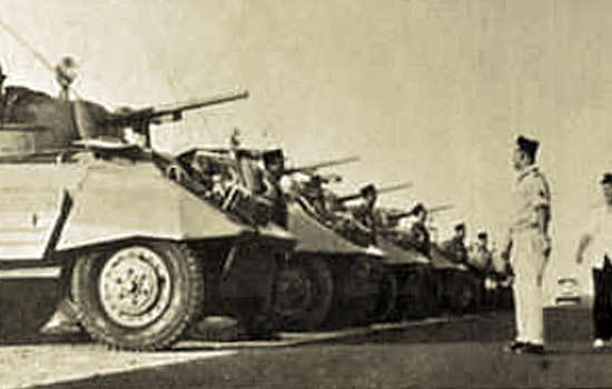 4e CSPL - 4 CSPL - Armored Platoon - Peloton Blindé