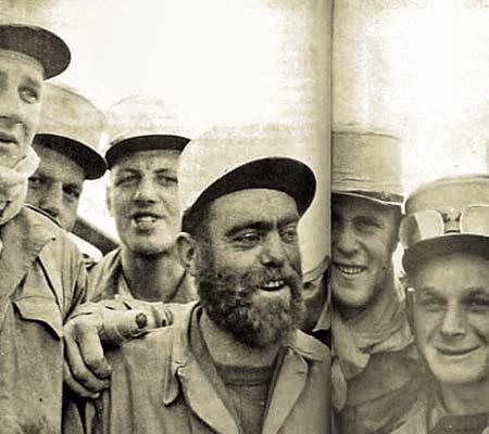 4e CSPL - 4 CSPL - 1956 - Ain Séfra - legionnaires