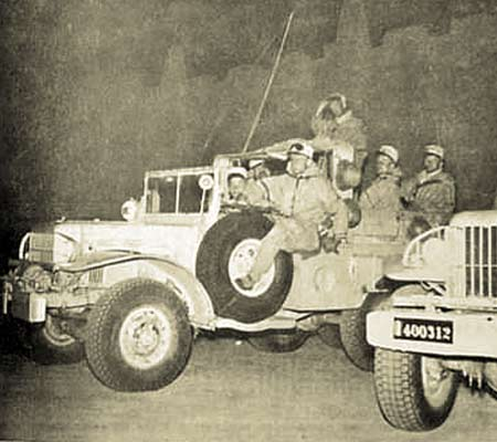 4e CSPL - 4 CSPL - Timimoun - Dodges - 1957