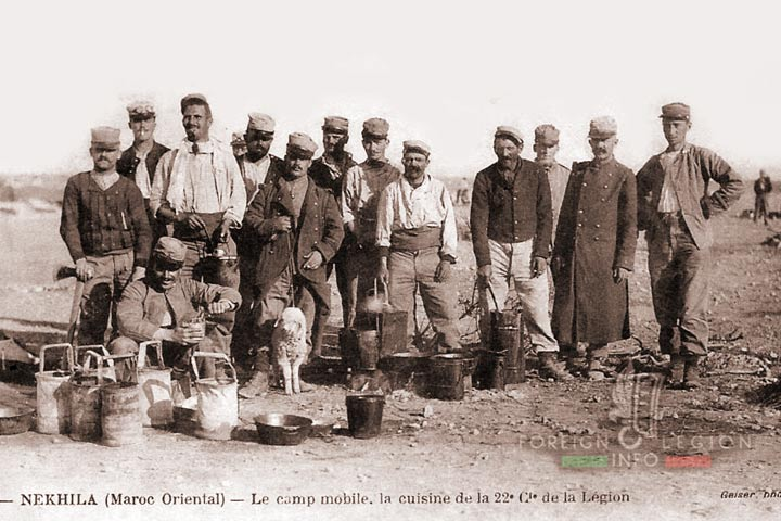 Legionnaires - Morocco - 1910-1914 - 22nd Company - 1st Foreign Regiment - Foreign Legion