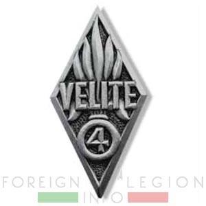 Badge - VELITE - 4 DBLE - 4th Half-brigade - Foreign Legion - 1942