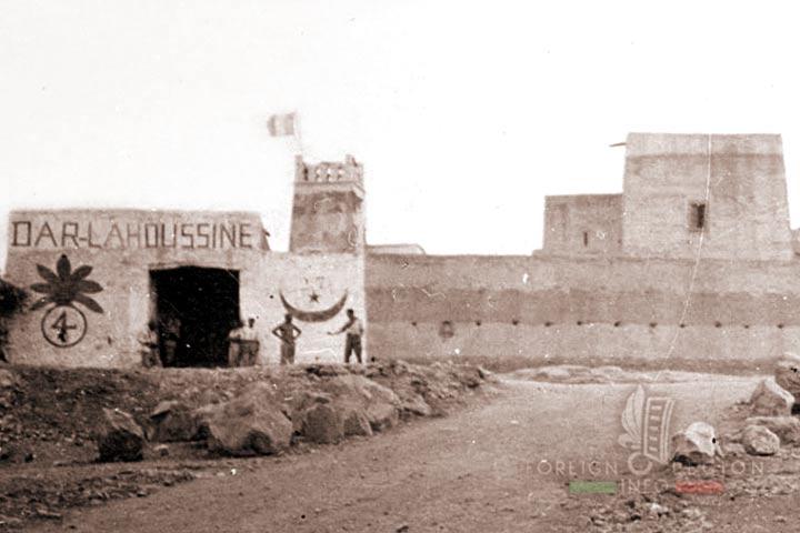 Poste Dar Lahoussine - 4e REI - 4 REI - Foreign Legion - Morocco - annees 1920