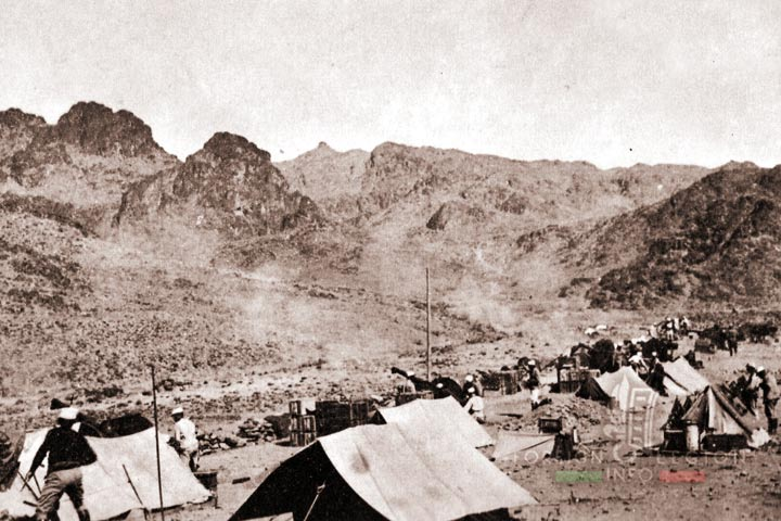 Marching Battery - Batterie de marche - 4e REI - 4 REI - Foreign Legion - Morocco - Djebel Sagho - 1933