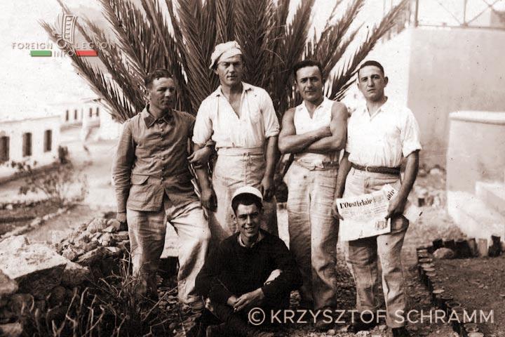 Legionnaires - 4e REI - 4 REI - Foreign Legion - 3rd Battalion - Morocco - Agadir - 1935