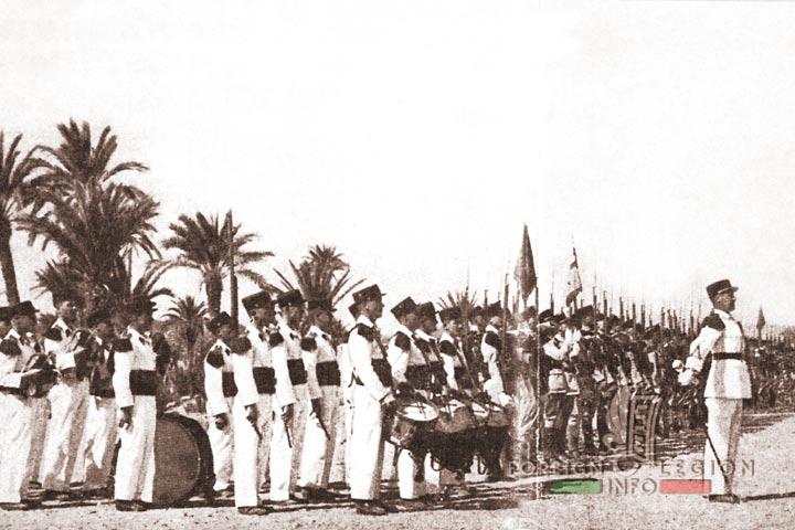 Camerone - 4e REI - 4 REI - Foreign Legion - Marrakech - Morocco - 1935