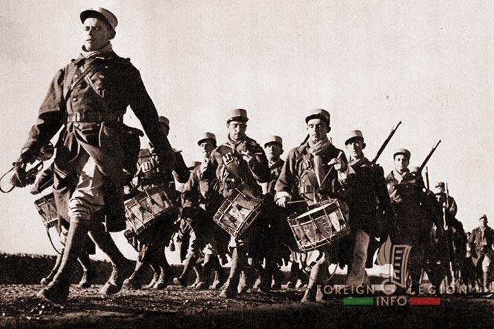 Legionnaires - 4e REI - 4 REI - Foreign Legion - Morocco - 2nd Battalion - 1938