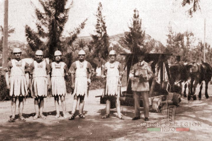 4e REI - 4 REI - 4th REI - 4th Foreign Infantry Regiment - Foreign Legion - Morocco - Camerone - 1938
