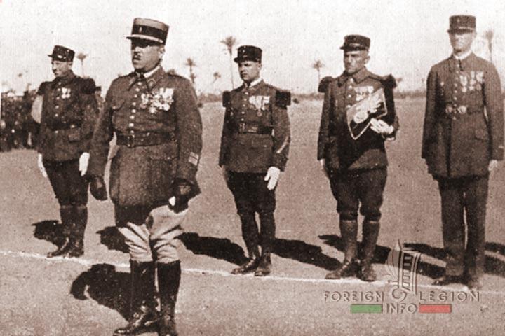 Colonel Lorillard - 4e REI - 4 REI - Foreign Legion - Morocco - Marrakech - 1938
