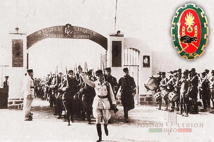 Foum El Hassan - 4e REI - 4 REI - 4th Foreign Infantry Regiment - Foreign Legion - Morocco - Automobile Mounted Company - 1939