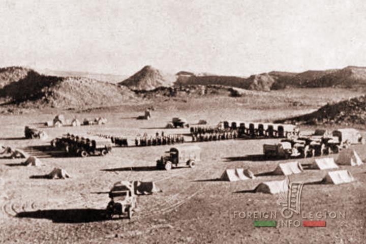Automobile Mounted Company - CMA - 4e REI - 4 REI - Foreign Legion - Morocco - Foum El Hassan - 1939