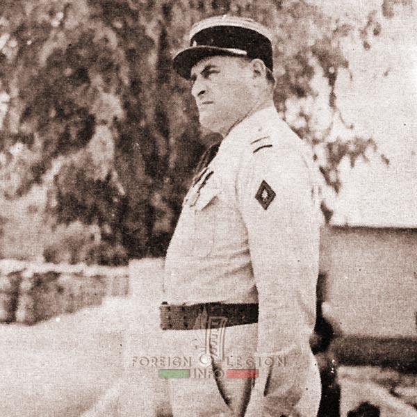 Lt Colonel Bablon - 4e DBLEM - 4 DBLE - 4e REI - 4 REI - Foreign Legion