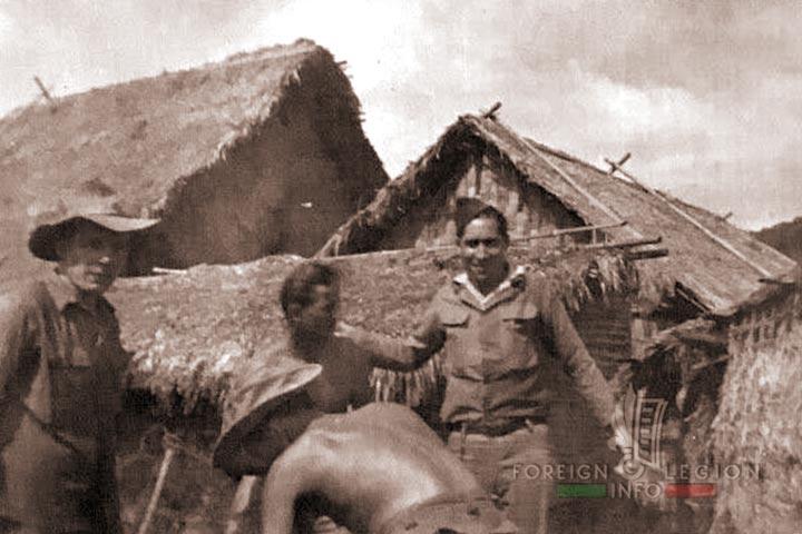 Indochina - 4e REI - 4 REI - 4th Foreign Infantry Regiment - Foreign Legion - Tonkin - Loc Binh - 1949