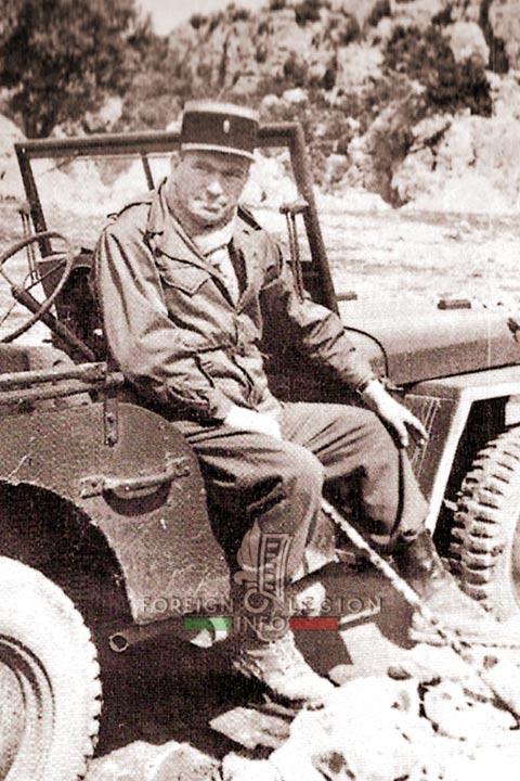 Jules Gaucher - 1st Battalion - 4e REI - 4th REI - Foreign Legion - Morocco - 1951