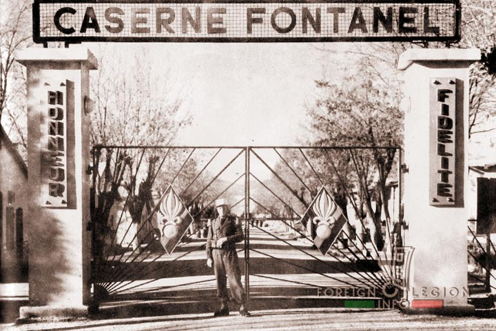 Caserne Fontanel - 4th Battalion - 4 REI - 4th REI - 4th Foreign Infantry Regiment - Foreign Legion - Morocco - 1954