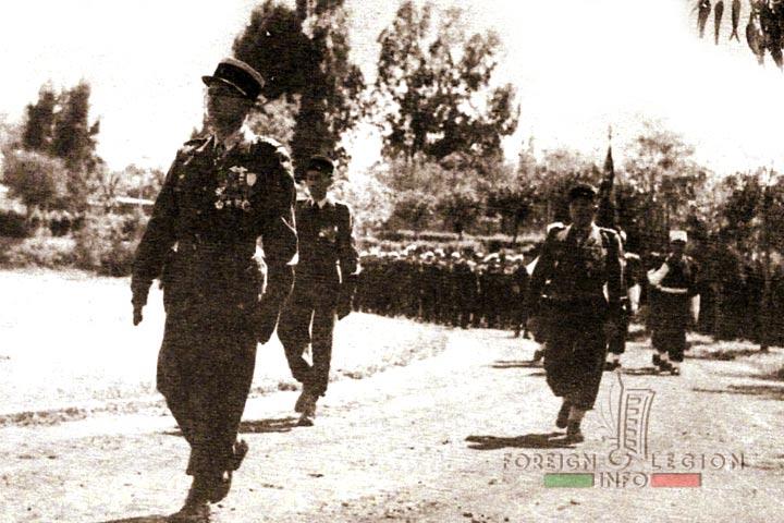 Camerone - Fes - Colonel Borreill - 4e REI - 4 REI - 4th REI - 4th Foreign Infantry Regiment - Foreign Legion - Morocco - 1956