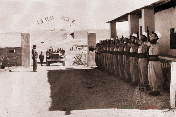 Bir El Ater - 3rd Motorized Company - 4e REI - 4 REI - 4th REI - 4th Foreign Infantry Regiment - Foreign Legion - Algeria - 1957