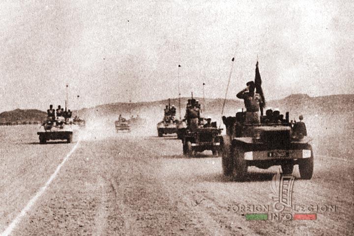 GCP 2 - Fort Trinquet - 4e REI - 4 REI - 4th REI - 4th Foreign Infantry Regiment - Foreign Legion - Mauritania - 1957 - GCP 2