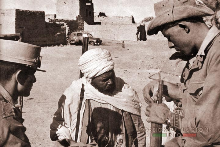 Legionnaires - 4e REI - 4 REI - Foreign Legion - Algeria - 1958