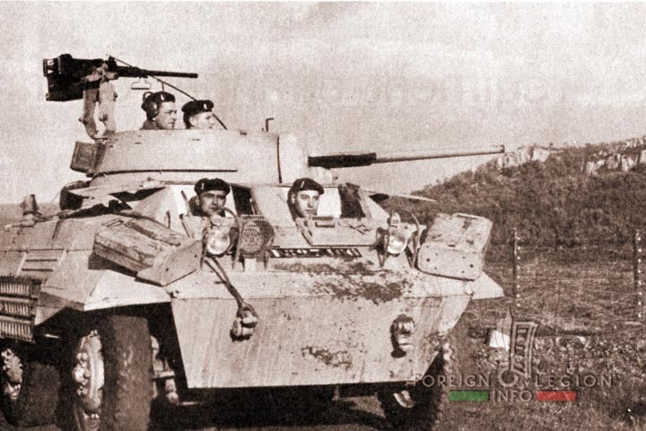 Border - AMM8 - 4e REI - 4 REI - 4th REI - Foreign Legion - Algeria - 1959 - AMM8