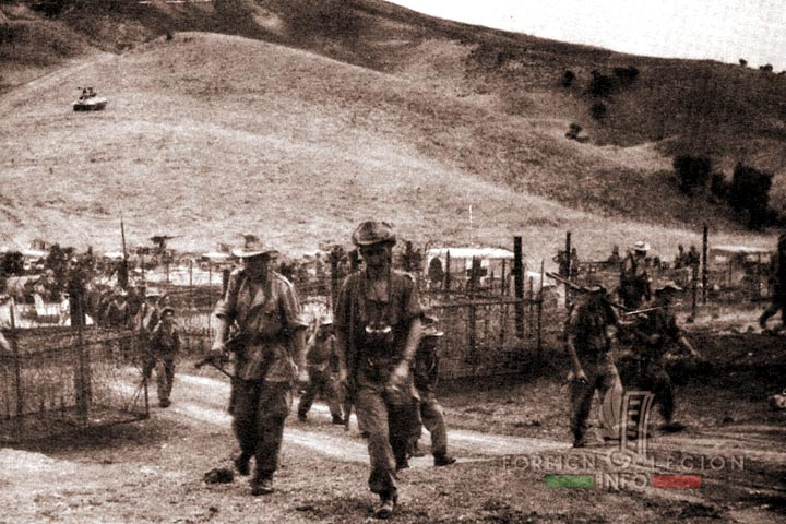 Border - Bône - 4e REI - 4 REI - 4th REI - 4th Foreign Infantry Regiment - Foreign Legion - Algeria - 1959