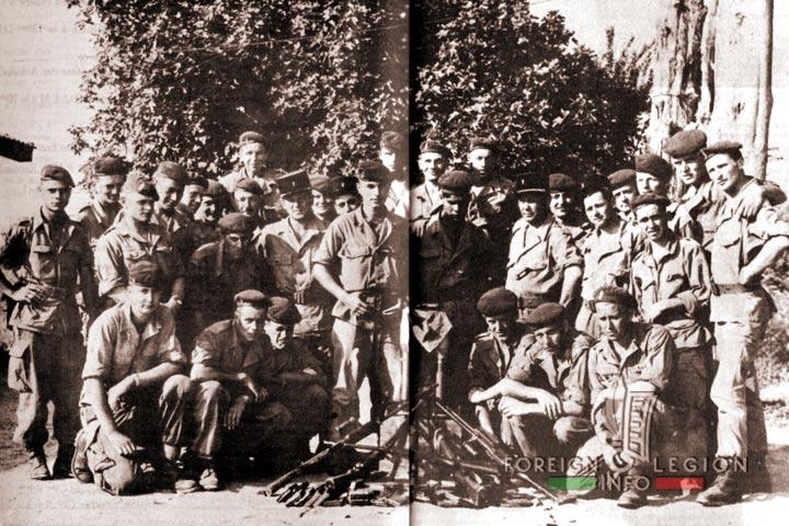 Legionnaires  - 4e REI - 4 REI - 4th REI - Foreign Legion - Algeria - 1960 - Spoils of war