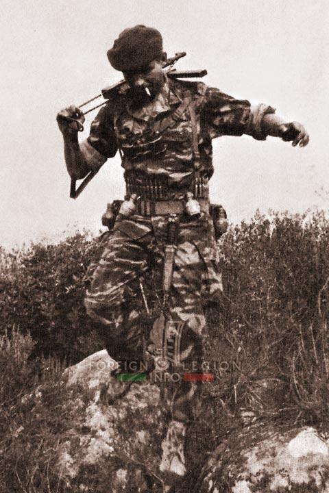 Warrior - 4e REI - 4 REI - 4th REI - 4th Foreign Infantry Regiment - Foreign Legion - Algeria - 1961