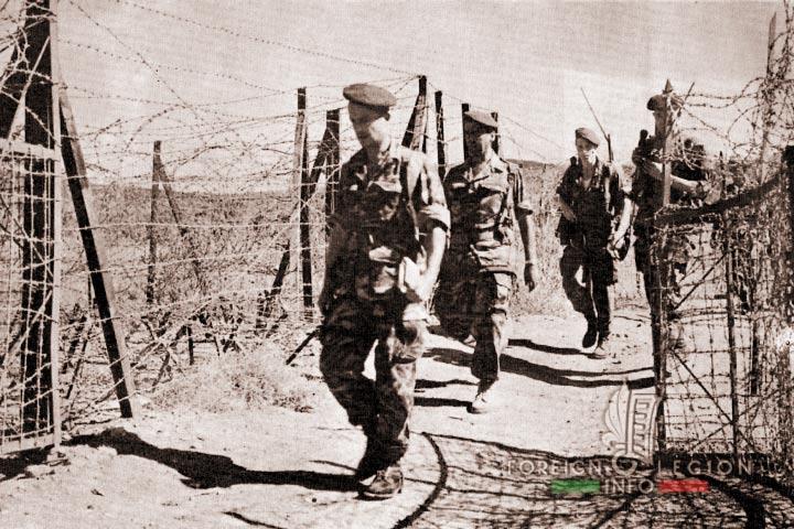 Border - 4e REI - 4 REI - 4th REI - 4th Foreign Infantry Regiment - Foreign Legion - Algeria - 1961