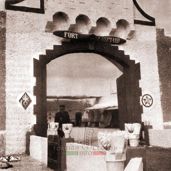 Fort Lallemand - 4e REI - 4 REI - 4th REI - 4th Foreign Infantry Regiment - Foreign Legion - Algeria - 1962