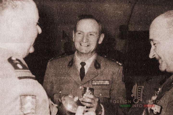 Colonel Brulé - 4e REI - 4 REI - 4th REI - 4th Foreign Infantry Regiment - Foreign Legion - Algeria - 1963