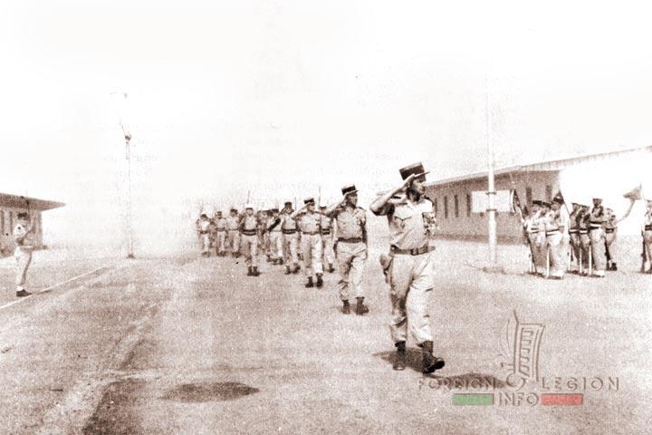 Reggan - 4e REI - 4 REI - 4th REI - 4th Foreign Infantry Regiment - Foreign Legion - Algeria - 1964 - dissolution