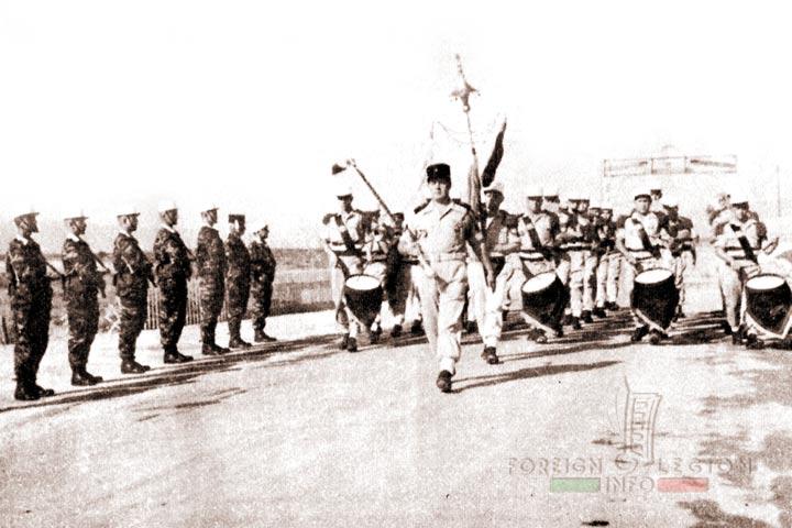 Military Band - Bou Sfer - 4e REI - 4 REI - 4th REI - 4th Foreign Infantry Regiment - Foreign Legion - Algeria - 1964